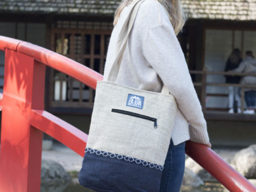 Tote bag en chanvre Bajura
